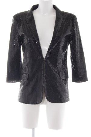 Riverside Kurz-Blazer schwarz extravaganter Stil