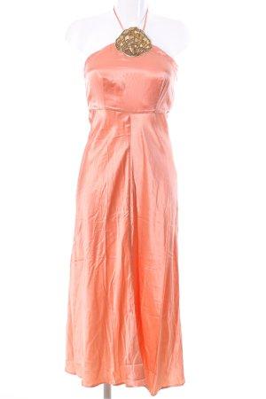 RIXO Abendkleid hellorange Elegant