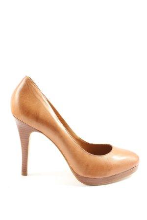 Rizzo High Heels braun Business-Look