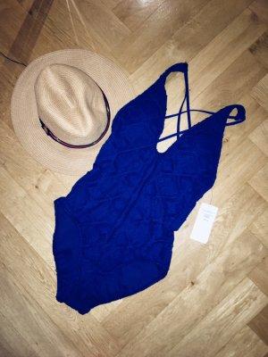 RL Neuer blauer Badeanzug
