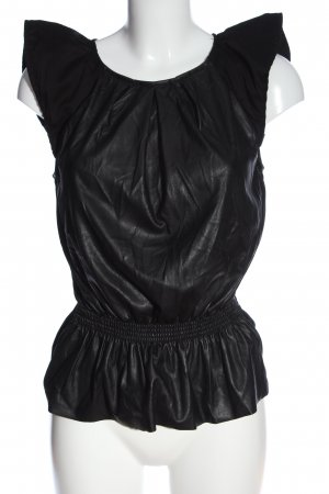 ROAD Schlupf-Bluse schwarz Elegant