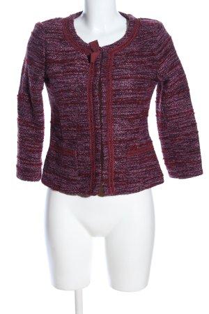 ROAD Tweed Blazer red-pink flecked casual look