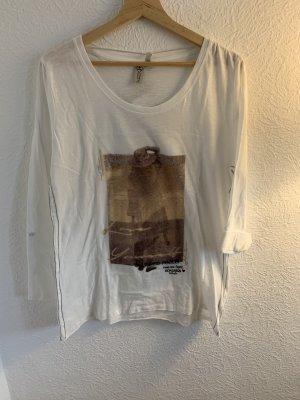 Roadsign australia Shirt met print wolwit-lichtbruin