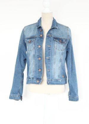 Roadsign Australia Jeans Jacke Jeansjacke blau rosegold L 40 used look
