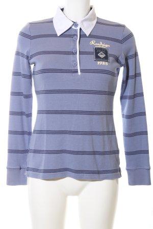 Roadsign australia Polo-Shirt blau Schriftzug gedruckt Casual-Look