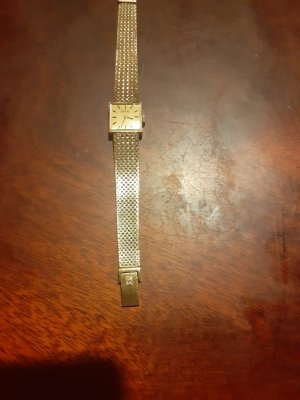 Roamer Watch Clasp gold-colored