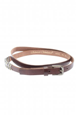 Robako Ceintures Leather Belt brown business style
