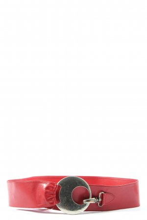 Robako Ceintures Lederimitatgürtel rot Casual-Look