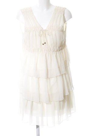 Robbi & nikki Flounce Dress natural white casual look