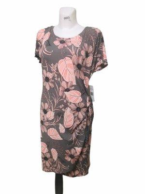 Robbie Bee Signature Damen Kleid Grau Rosa XL