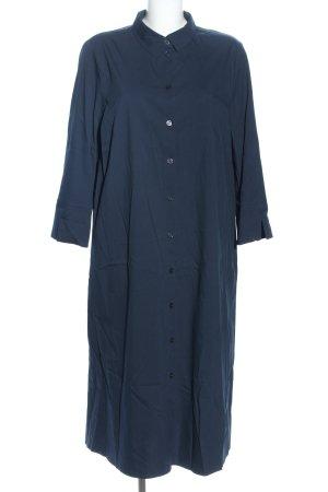 robe légère by Vera Mont Hemdblusenkleid blau Casual-Look