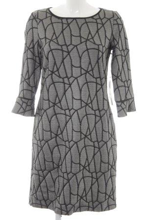 robe légère by Vera Mont Langarmkleid schwarz-weiß Elegant