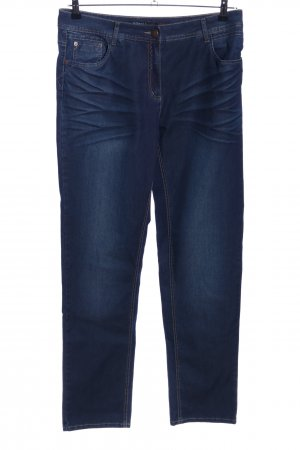 Robell Stretchhose blau Casual-Look