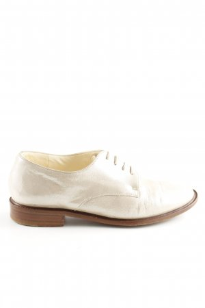 Robert clergerie Zapatos Oxford con puntera crema look casual