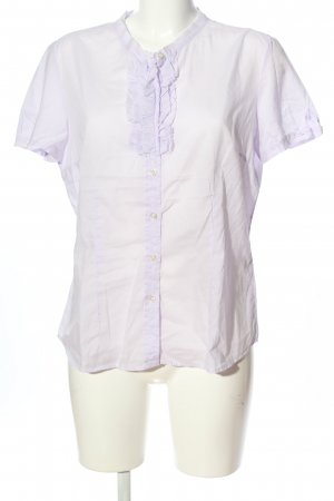 Robert Friedman Kurzarm-Bluse weiß Casual-Look