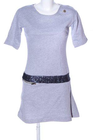 Roberta Biagi Sweat Dress light grey flecked casual look