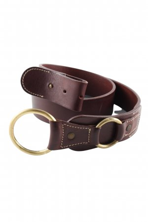 Roberto Bellido Leather Belt brown business style