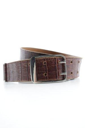 Roberto Bellido Cintura di pelle cognac stile classico