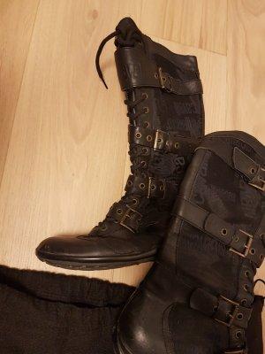 Roberto Cavalli Boots Schwarz Gr 38