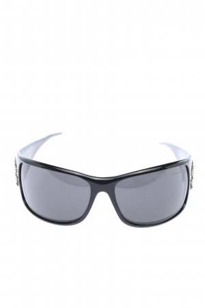 Roberto Cavalli Glasses black-silver-colored casual look