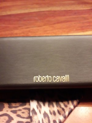 Roberto Cavalli Glasses dark brown-gold-colored