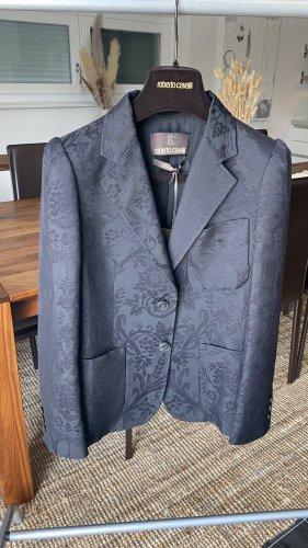Roberto Cavalli Wool Blazer black