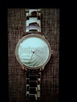 Cavalli Watch With Metal Strap silver-colored stainless steel