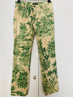Roberto Cavalli Five-Pocket Trousers multicolored