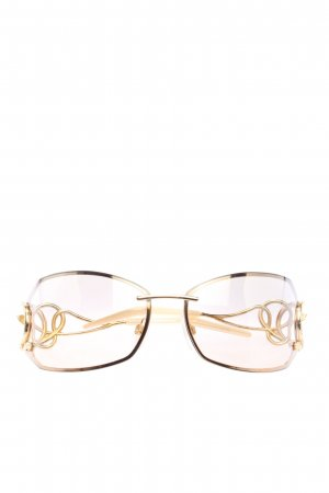 Roberto Cavalli Angular Shaped Sunglasses gold-colored casual look