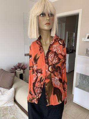 Roberto Cavalli Blouse en crash multicolore