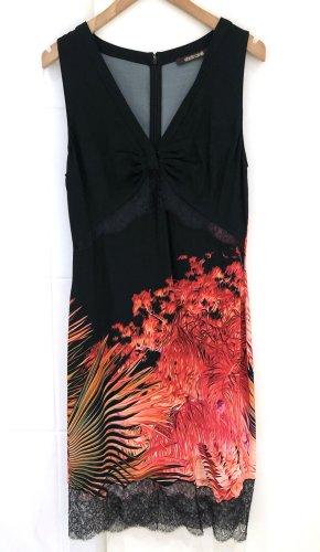 Roberto Cavalli Sheath Dress multicolored viscose