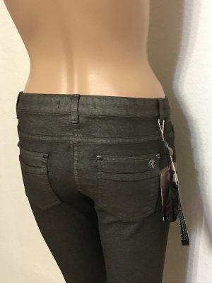 Roberto Cavalli Stretch jeans donkergrijs-antraciet