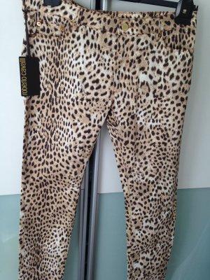 Roberto Cavalli Jeans skinny marrone Cotone