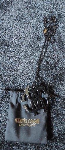 Roberto Cavalli Kette, schwarz, inkl. Staubbeutel, NEUWERTIG