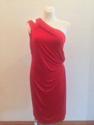 Roberto Cavalli Midi Dress dark red