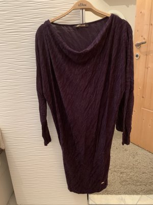 Cavalli Longsleeve Dress brown violet