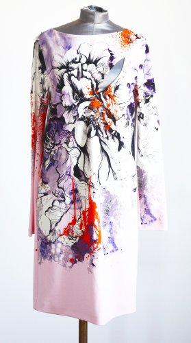 Roberto Cavalli Abito denim multicolore Viscosa