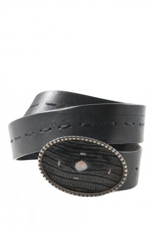Roberto Cavalli Faux Leather Belt black casual look