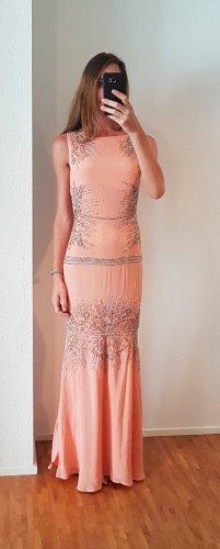 Roberto Cavalli luxus Designer Hochzeitskleid peach Brautkleid Abendkleid brautjungfer Abiball blush