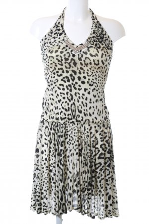 Roberto Cavalli Halter Dress allover print casual look