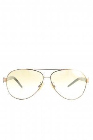 Roberto Cavalli Aviator Glasses brown-black flecked casual look