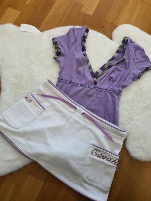 Roberto Cavalli Pyjama wit-paars