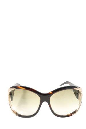 Roberto Cavalli Oval Sunglasses brown-light orange casual look