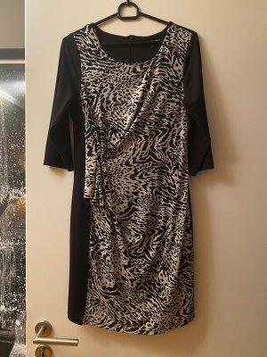 Roberto Cavalli Jersey Dress black-white