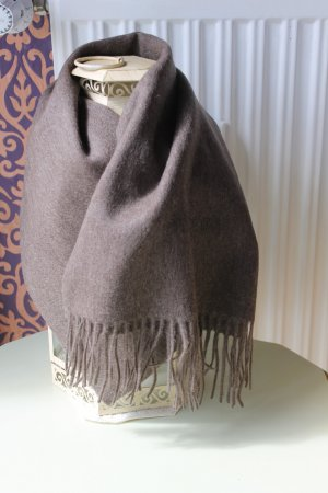 Roberto Cavalli Woolen Scarf light brown wool