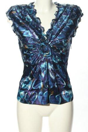 Roberto Cavalli Silk Blouse abstract pattern elegant