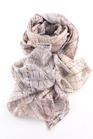 Roberto Cavalli Bufanda de seda estampado de animales look casual