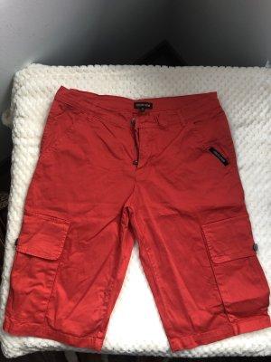 Roberto Cavalli Pantaloncino a vita alta rosso