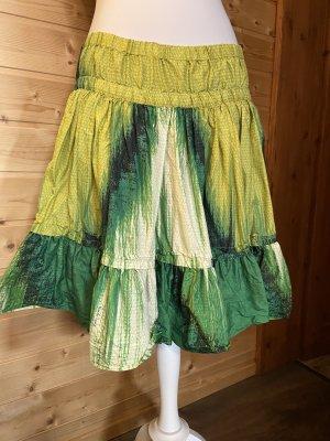 Roberto Cavalli Silk Skirt multicolored silk