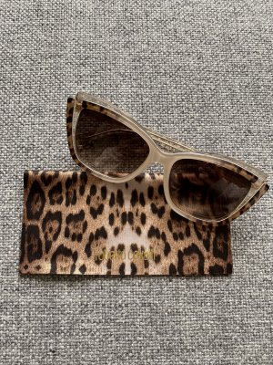 Roberto Cavalli Angular Shaped Sunglasses beige-light brown